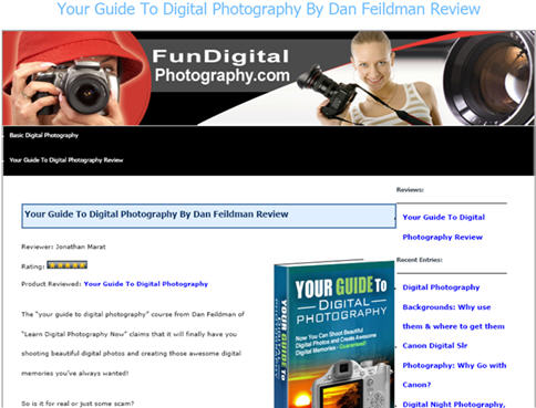 Your Guide To Digital Photography Review